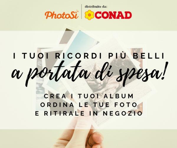 servizio stampa foto online PhotoSì Conad