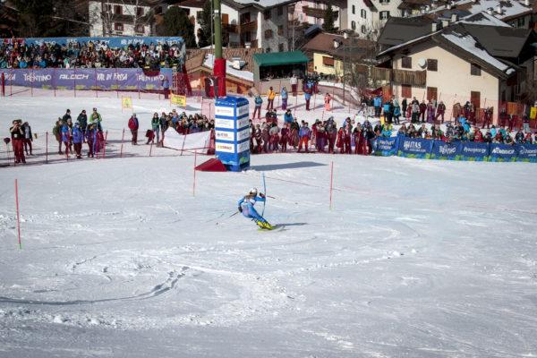 FIS ALPINE JUNIOR WORLD SKI CHAMPINOSHIP TRENTINO VAL DI FASSA 2019 20-02-2018 slalom speciale femminile Pozza di Fassa Norbye Kaja (NOR)