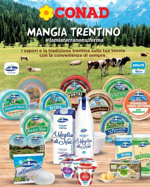 Mangia Trentino Latte Trento