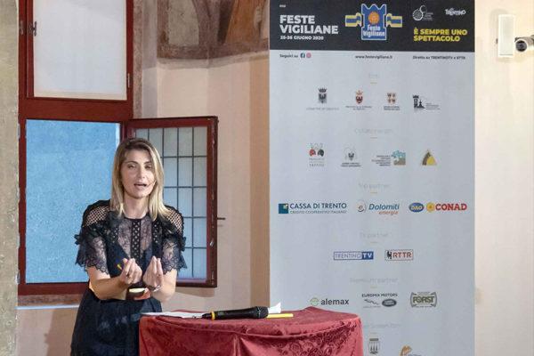 Claudia Andreatti presenta le Feste Vigiliane 2020
