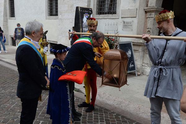 Il sindaco di Trento inaugura le Feste Vigiliane