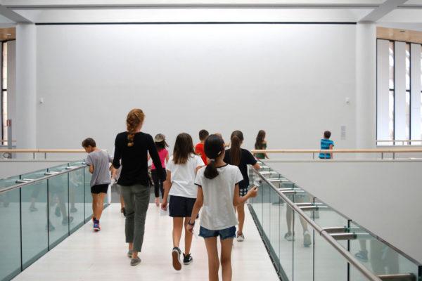 Bambini al Museo di arte moderna e contemporanea di Rovereto