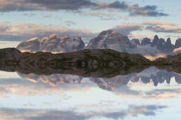 Panorama da Lago Nero