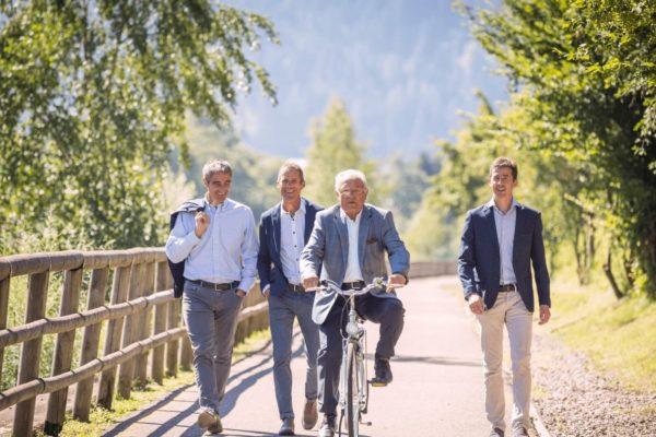 Riccardo, Paolo, Valentino e Stefano