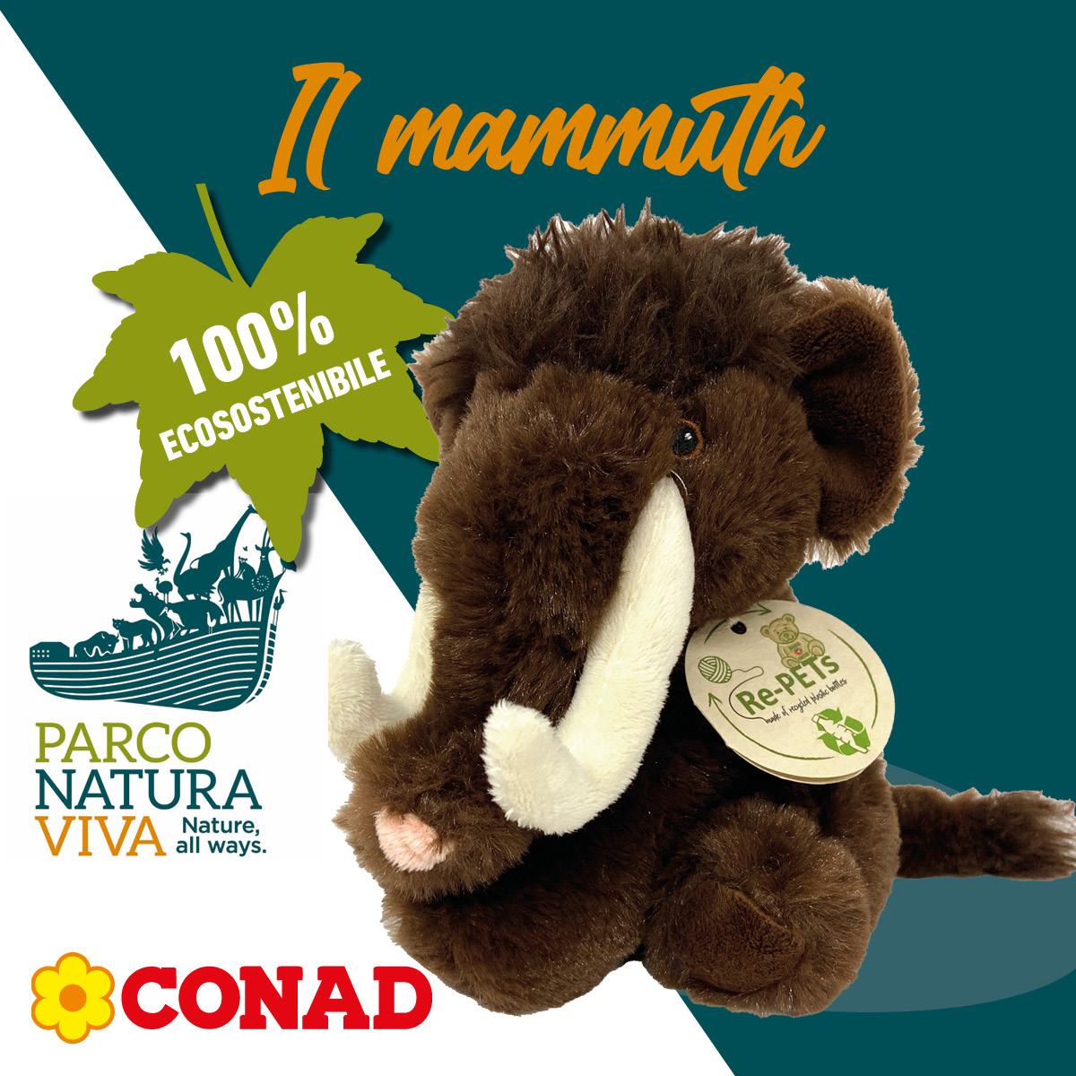 Parco Natura Viva peluche mammuth