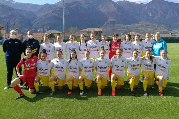 Foto di squadra Trento calcio femminile_stagione 2020-2021