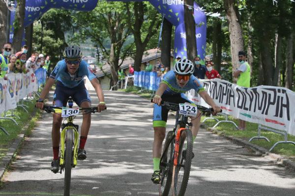 MTB Oltrefersina Mattia Stenico arrivo sprint