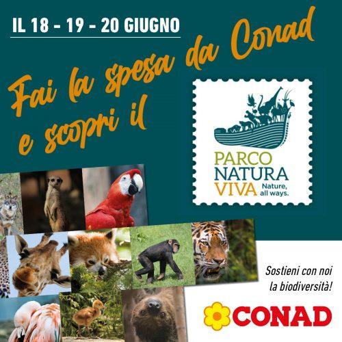 Parco Natura Viva Conad Superstore Peschiera biglietto ingresso