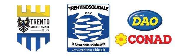 Trento Calcio Femminile ASD Calendario loghi